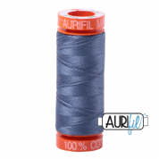 Aurifil 50 Cotton Thread - 1248 (Dark Grey Blue)